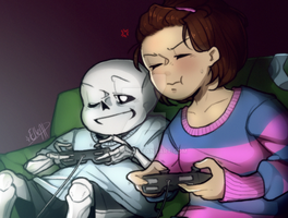 Game [Undertale] by ElleAP
