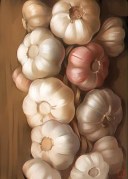 Garlic by GaudiBuendia