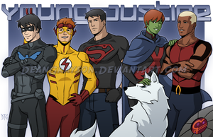 Young Justice by DeanGrayson