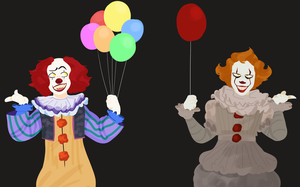 pennywise by likkrrr