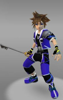 IMVU Sora W Kingdom Heart by ps2105
