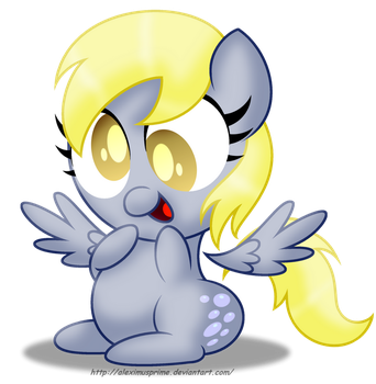 Cute lil' Derpy by AleximusPrime