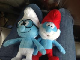 My new smurfy toys by RichHoboM3