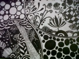 My abstract Lotus by Mechaice