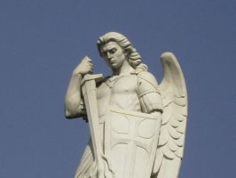 Saint Michael please defend us by achilles212