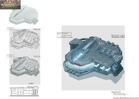 HQbuilding1 set1 Science Lab lowres by alexdrummo