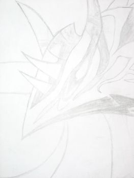 Valefor Pencil Drawn by Ofloveandlies
