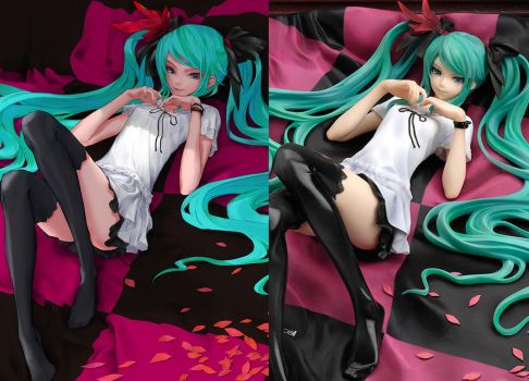 Hatsune Miku 'World is Mine' PVC Figure by redjuice999