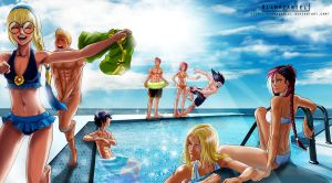 Pool party 2012 by NyRiam