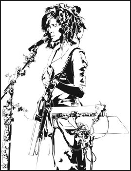 Imogen Heap Illustration by rerighthand