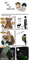 The OC Double meme: Khalan and Mori by Cuine