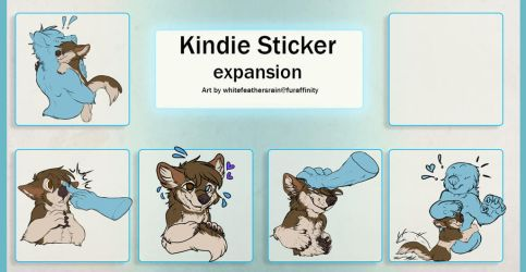 Kindie sticker xpac by Whitefeathur