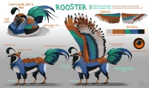 Rooster by Chickenbusiness