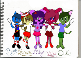 Xat Squad by Princess-Lily-TTR