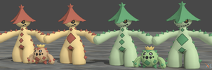 XPS Pokemon X and Y Cacnea and Cacturne