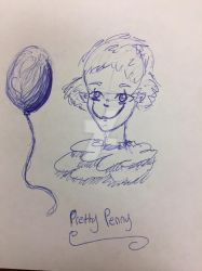 October doodle Pretty Penny  by CathARTic1