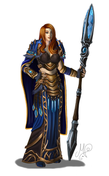 Commission: Lealynn Larieux by SkullCandister