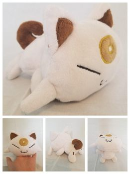 Meowsy Beta Pokemon Plush by The-Plushatiers