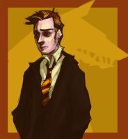 remus lupin by dangerousinred