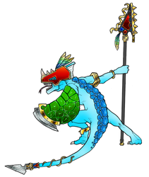 Skink Chief by maxviolence