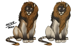 Feb 4 Lions by euthanizedCanine