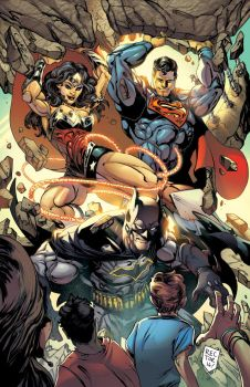 DC Trinity Color by VinceColors