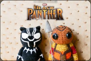 Black Panther Amigurumi by cristell15