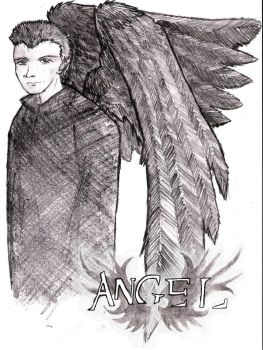 angel as an angel by Tabbygirl