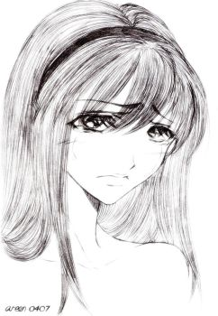 Sadness by 4reen