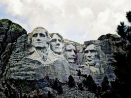 Mt Rushmore by StationAperture