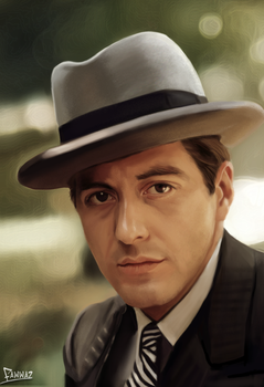 Al Pacino - The Godfather by fawwaz1