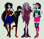 Vampire Babes by NickyVendetta
