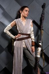 Rey, the scavenger - Star Wars by Narga-Lifestream