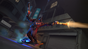 [SFM] Hoverboard pyro by eryk276