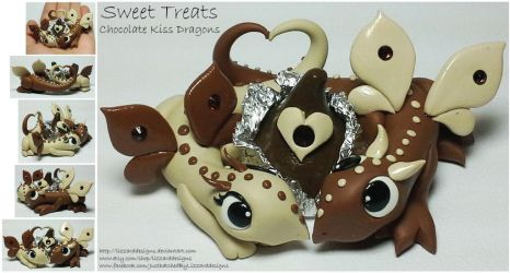 Sweet Treat Chocolate Kiss by lizzarddesigns