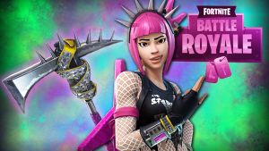 Fortnite BR Pink Rock by LordMaru4U