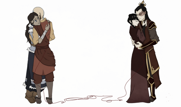 The Red String of Fate by chaela0109