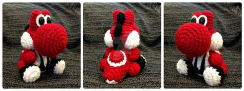 Yoshi Red - Custom Made to Order. by Dragon620026
