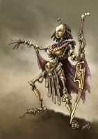 Dead Princess of Khemri by 9th-max