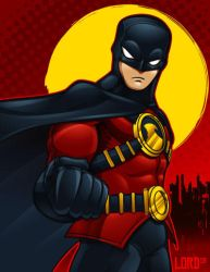 Red Robin by lordmesa