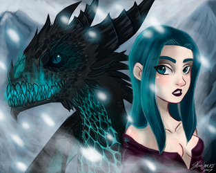 Drogon 115 by KarolynDread115