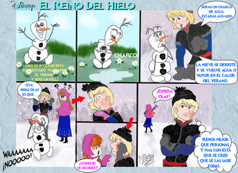 Frozen Olaf Verano In Summer by E-Ocasio