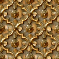 Tarnished Brass Metal Decor 1 (tileable) by LilipilySpirit
