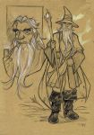 THE HOBBIT - Gandalf sketch by DenisM79