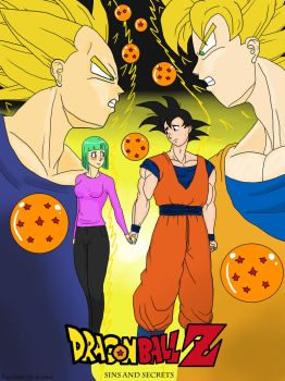 DragonballZ sins and secrets by angela808
