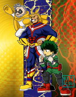 Commission: BNHA poster by Asticou
