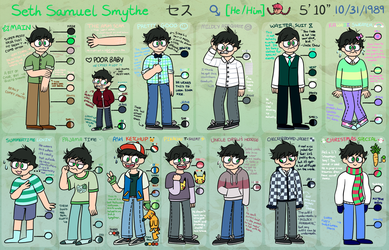 SETH'S OUTFITS by ZyloBunny