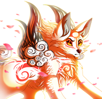 Okami the Sun Goddess by PlagueDogs123