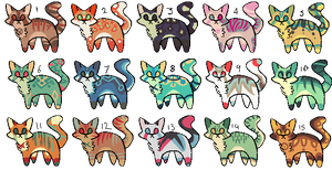Cat Design Adopts [20 points each] [OPEN] 2 LEFT by ASTRAGATO