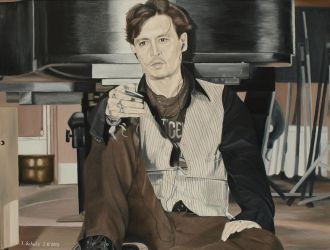 Johnny Depp - Queenie Eye by shaman-art